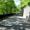 Heading down from the Palisades Parkway to ride under the George Washington Bridge