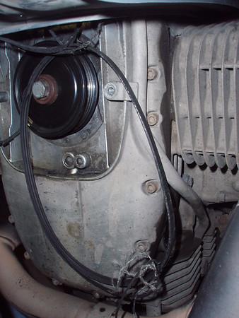 2008.11.16 broken alternator belt