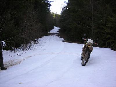 2/7 Bill's bike on Rocky Brook