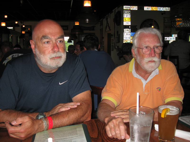 Zane & Ike at the Riverfront Seafood Company in Kingston TN