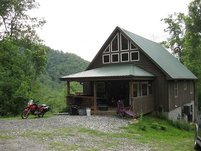 The Party Boss AKA R1100Rick's cabin near Hot Springs NC