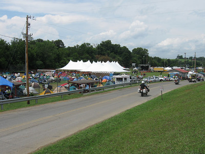 The beer tent and stage for the evening bands.  Friday's lineup was Blue Mother Tupelo, Paul Thorn & Delbert McClinton.