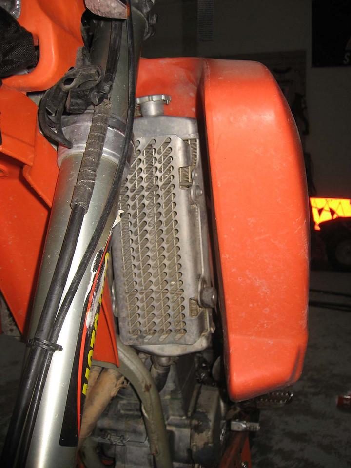 Left Radiator