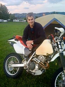 Jim at camp