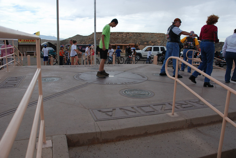 On the way to Durango from Bluff, Utah, I stop at the Four Corners tourist trap for photos.