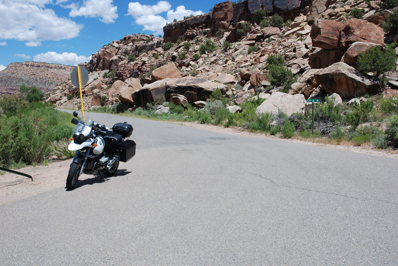 Unaweep Tabeguache Scenic Byway aka, Hwy 141, in Colorado.