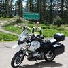 Pass Bagger shot, atop Coal Bank Pass on the Million Dollar Highway, from Durango to Silverton, Colorado.