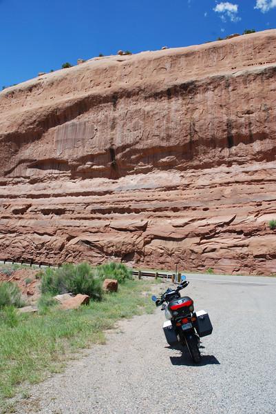 Unaweep Tabeguache Scenic Byway aka, Hwy 141, in Colorado.