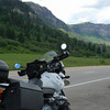On the way out of Durango, on the Million Dollar Highway, Colorado.