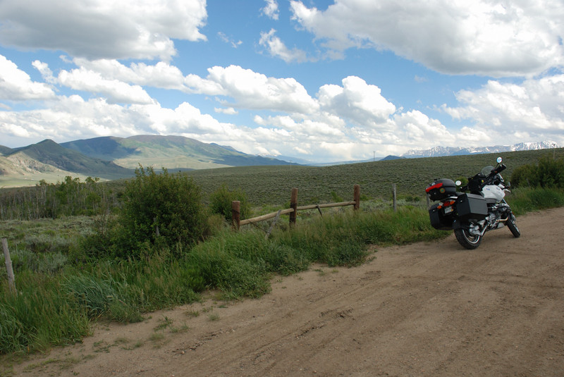 On the Trough Road, outside of Kremmling, Colorado.