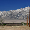 Along the way, I stopped at the Manzanar internment camp.