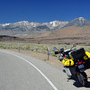 After the race on Saturday, I rode to Bishop for the evening.  The next day I took 395 south along the east side of the Sierras.