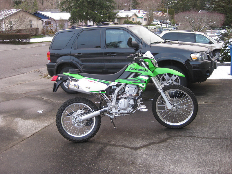 "I recently sold my KLR250 with KLR650 suspension mods because I found I had little time to ride it. When an opportunity to buy  this '09 KLX250S was presented to me, I just couldn't say ""No."""