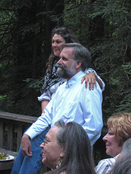 My friend, Dave Lemmer and his wife, Amy, at their 25th wedding anniversary.