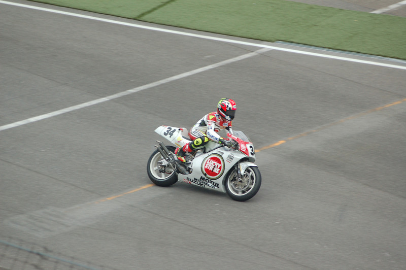 Kevin Shwantz on his 500