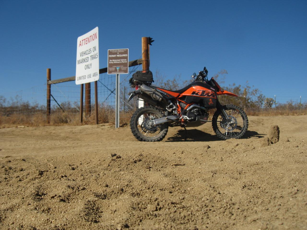 Mojave ADV Ride