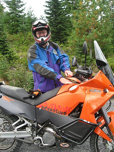 Randy and his brand new KTM