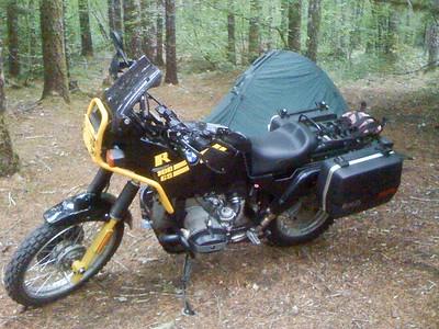 Camping spot at Fox Creek.
