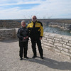 Barb and Ray at Pecos River overlook