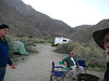 Camp in Borrego Springs. That's Hoop back there.