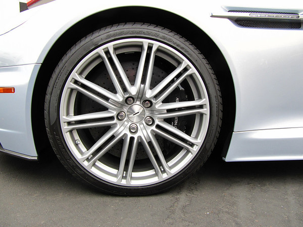 Front stock wheel. $270,000 Aston Martin DBS