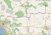 Route Day 1, Yorba Linda to Mather campground at the Grand Canyon, South Rim.<br /> 4748 miles for the day