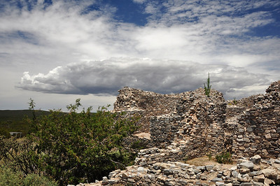 Spanish Mission ruins in NM.