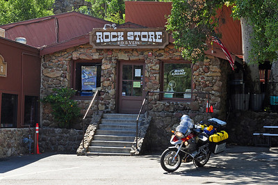 Obligatory visit to the Rock Store.