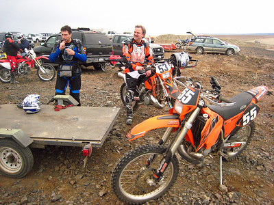 Dan and Marc ready to ride