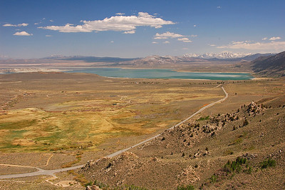 Mono lake looking south