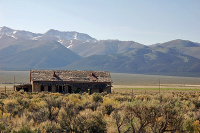 A cabin in the Reese valley
