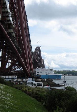 2009 (May) Rosyth Ferry & Forth Bridges