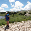 Crazy Coloradan - jogging over Taylor Pass, and last seen heading up Italian Creek toward the Reno Divide.