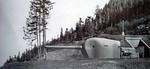"""20100515 Shielded 6"""" gun  Battery 249  Camp Hayden, Washington"""