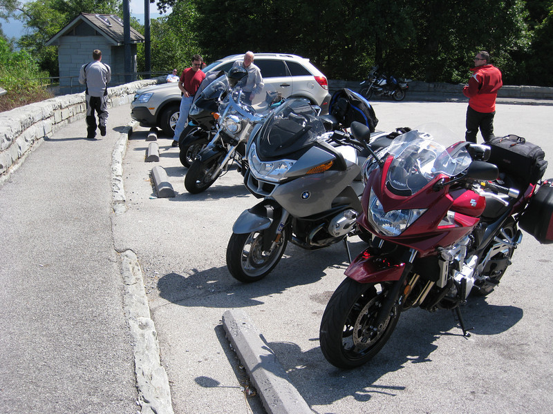 da bikes.  It was hot; low 90s