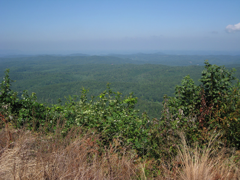 View from Cherohala Skyway, Tennessee side.