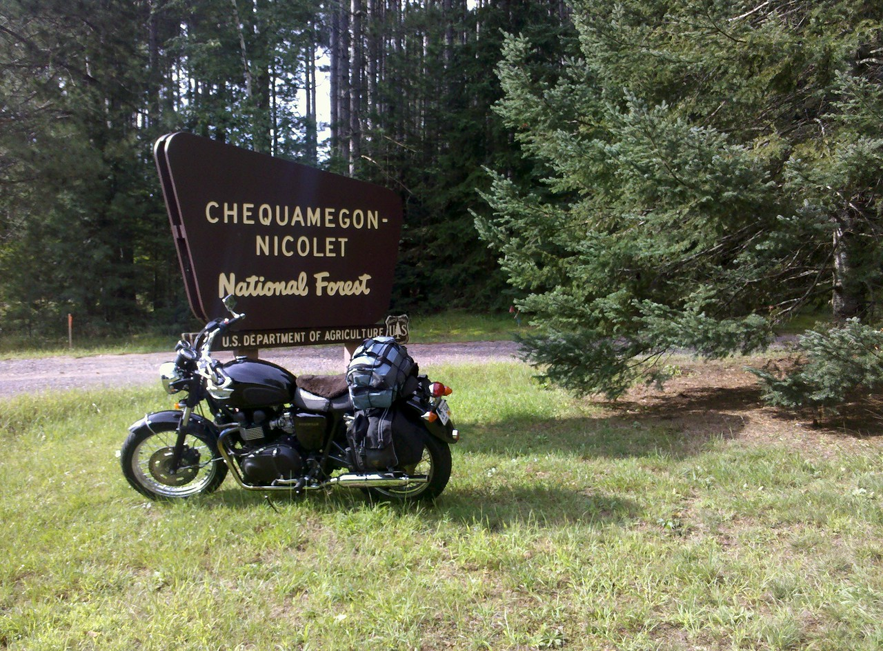 Entrance to Chequamegon National Forest