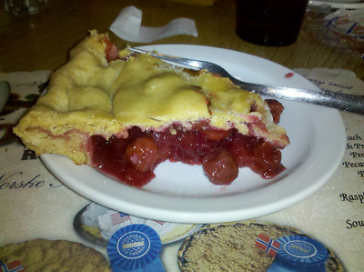 And my desert at Norske Nook, Osseo WI
