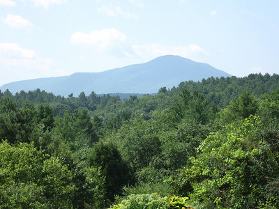 Mount Ascutney - my first goal for the morning.