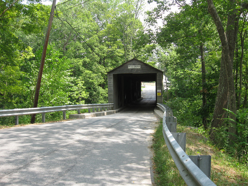 Crossing into Connecticut via Bulls Bridge