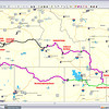 """The """"as built"""" plan and routes of this trip. Basically a loop with a tail, starting at home in Fort Collins, to Vernal, UT, around the Flaming Gorge Reservoir and up the Salt River Valley or Star Valley, as the Wyomingites call it, around Palisades Reservoir to Idaho Falls, ID. Damon Henry accompanied me as far as Idaho Falls, when he split off to go up to Yellowstone NP and down through Wyoming. From Idaho Falls across the Snake River Plain (windy as hell) through the Craters of the Moon and then north through the Sawtooth Valley in Idaho. Moving ever westward and on into Oregon. The destination for the layover is Redmond, OR, where the BMW Motorcycle Owners Association is having its 2010 International Rally. Somewhere in the neighborhood of 6000 attendees, so there were Beermers crawling all over Central Oregon. It was a good rally and I hung with Larry Gillam and Jim Staedler. While in Redmond, I went up to Mt. Bachelor, the ski area atop a dormant volcano (built on top of volcanic rock, of course) and also out to Smith Rock State Park, a well known rock climbing destination.<br /> <br /> From Redmond it was on to the Oregon Coast and down the famous Highway 101. Beautiful, just beautiful. From there, I had to see Crater Lake National Park. Wow, what an awesome geologic wonder. And also stunningly beautiful. After that it was down the only highway into Nevada, to Winnemucca and a stayover in Elko, NV. The loop closed at Vernal, again, and then it was familiar roads back to the Fort. 14 days out, 3508 miles. One for the personal record book."""