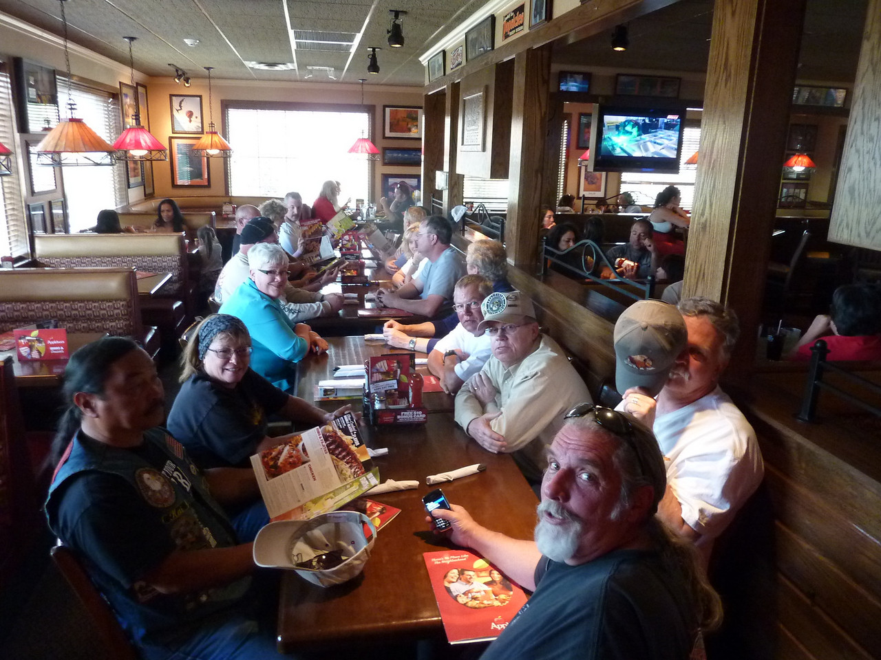 Lunch at Applebee's