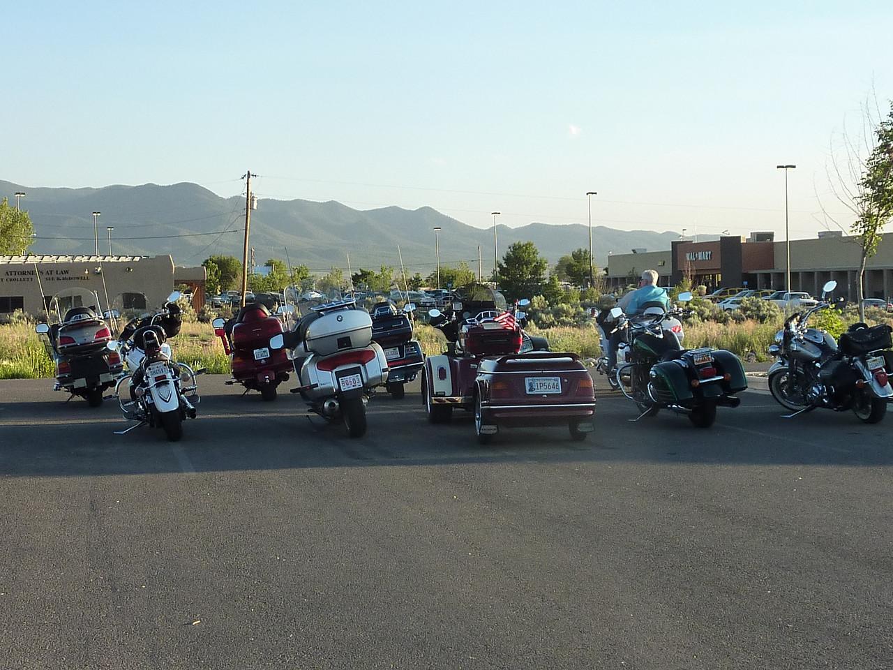 Applebee's parking lot