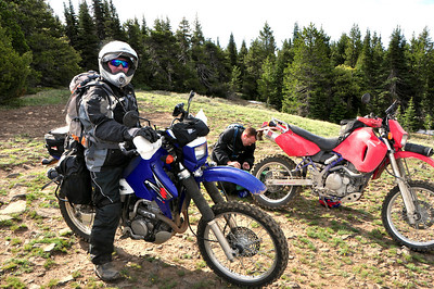 Dr. Dan and his DRZ