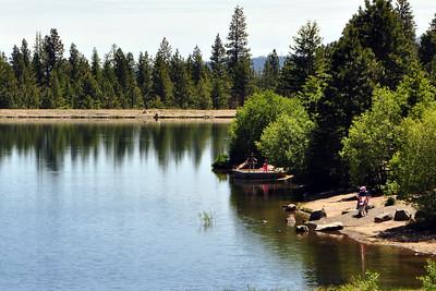 Beehive reservoir.