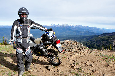 Chuck and his DRZ