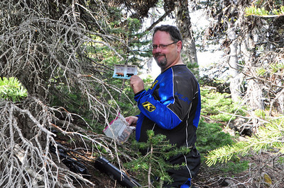 Where's Rob?  Can you say Geocache?  Sure, sure you can.
