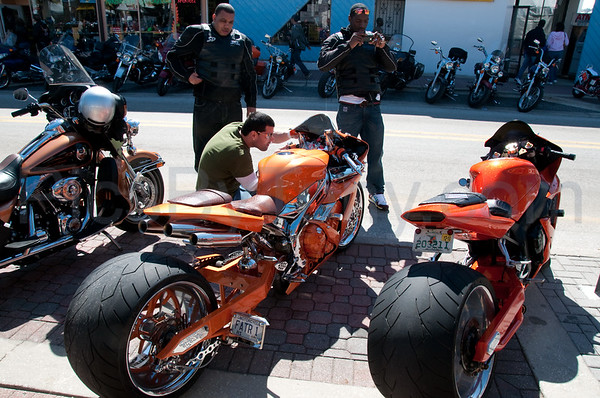2010 Daytona 69th Bike Week Riding Main Street on Fri Mar. 5, 2010