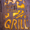 sign of the burr trail grill, boulder, ut