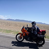 Dr. Mike (cyath) on his new KTM 990... just had it's 6k service before this trip!
